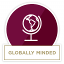 Globally Minded badge