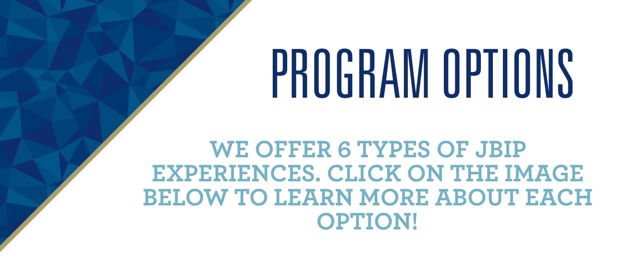 Program Options banner